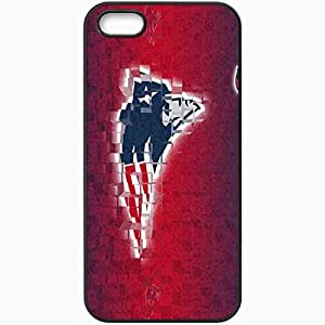 Personalized iPhone 5 5S Cell phone Case/Cover Skin 1186 new england patriots 0 Black