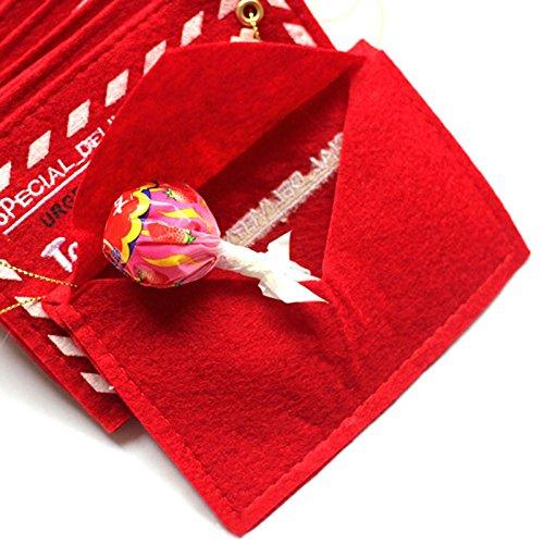 Jocestyle Santa Claus Gift Money Card Holders with Envelopes Christmas Ornament Decor Set of 10 Photo #5