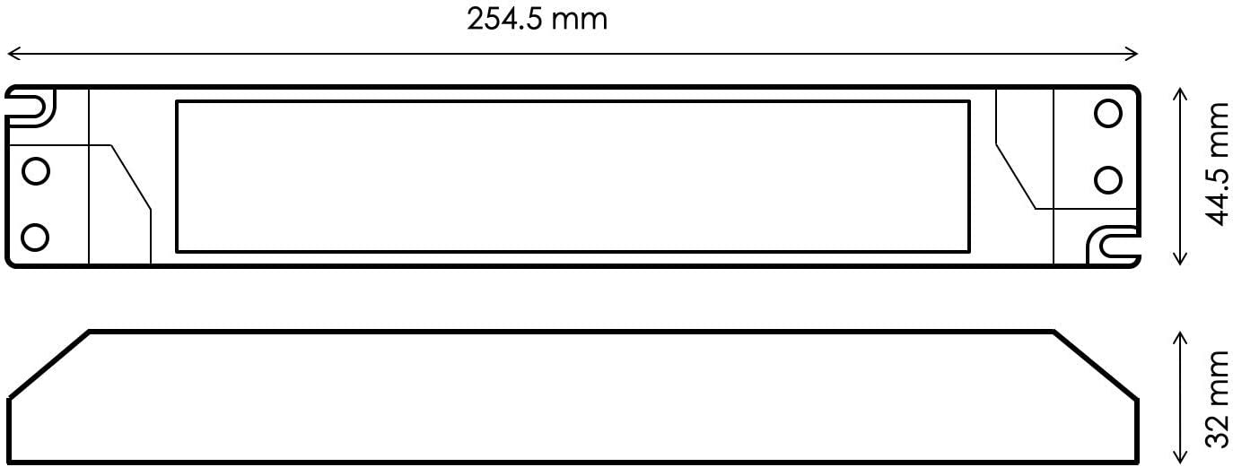 HuaTec Eaglerise Transformador LED 12V 6W Tensi/ón Constante para Tira LED Alimentador Fuente de Alimentaci/ón LED