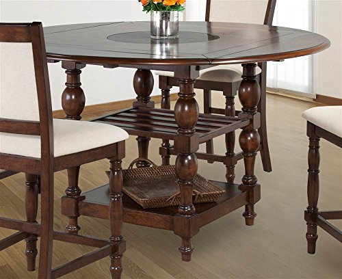 Bernards Furniture Cherry (Round Counter Dining Table)