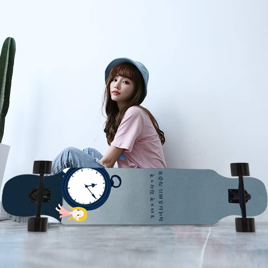 DUWEN-Skateboard Maple Dance Board Teen Brush Straßenreisen Straßenreisen Straßenreisen Jungen und Mädchen Roller Anfänger Erste Schritte (Farbe   A) B07NZ4LN7P Skateboards Modebewegung 5cccf0