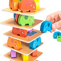 Amazon.com: Irr-Elephant! Juego de mesa infantil con diseño ...