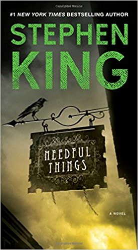 Stephen King Books List : Needful things