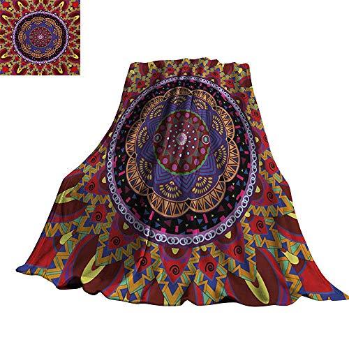 Angoueleven Mandala,Soft Blankets Vintage Style Wedding Invitation Card