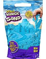 Kinetic Sand, The Original Moldable Sensory Play Sand, Blue, 2 lb. Resealable Bag, Ages 3+