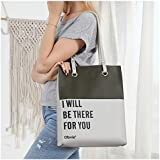 Obvie Soft Leather Tote Bag for Women Simple...