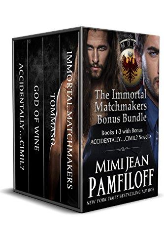 Boxed Set: The Immortal Matchmakers, Inc. BONUS Bundle: Books 1-3, Bonus Novella (Immortal Matchmakers, Inc. Series)