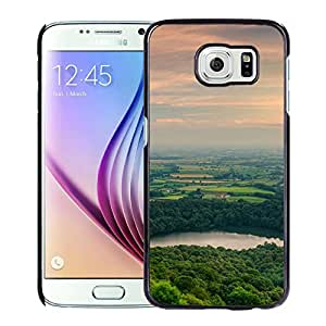 New Custom Designed Cover Case For Samsung Galaxy S6 With Mm Nature Mountain Awesome View Best Phone Case