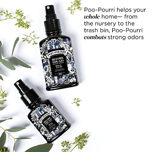 Poo-Pourri Before-You-Go Toilet Spray 4 ml Bottle, Royal Flush Scent
