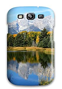 HessMasonn Galaxy S3 Hybrid Tpu Case Cover Silicon Bumper Earth Forest Nature Forest