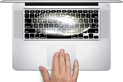 [Retro Disco Ball Macbook Keyboard Decals (Fits 13, 15 inch Air/Pro/Retina)] (70s Disco Fever)