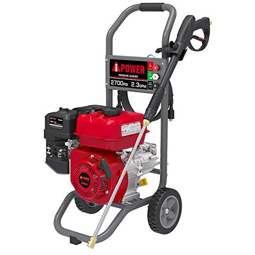 A-iPower APW2700C 7HP High Pressure Washer 2700 PSI 2.3 GPM CARB Complied Gas Powered, 2 Years Manufacture Warranty