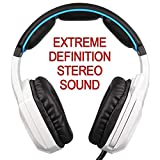 YTDTKJ Sades SA 920 Game and Music Headset Headset USB Desktop PC e-Sports Headset with Microphone CF- Black and White