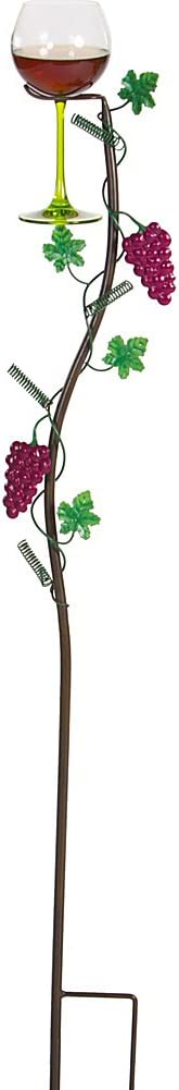 Wine Glass Holder Ground Stake By Picnic Plus