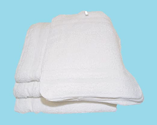 18pcTowels Shop Rags 100/% Cotton Terry Cloth Car Wash Grants 16x14 Multi-Purpose