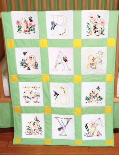 Fairway 92378 Baby Quilt Block, Duck Design, Twelve Blocks, ()
