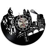 Innovative Batman Vintage Vinyl Record Clock For Sale