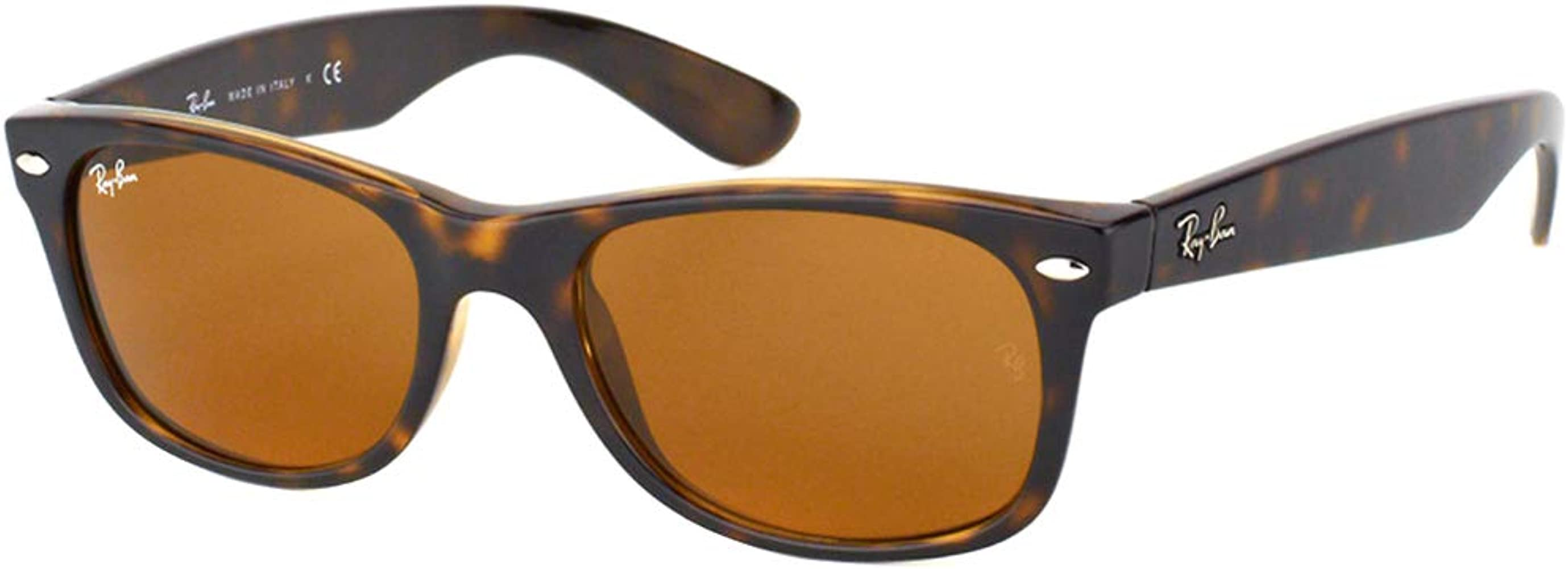 Ray-Ban New Wayfarer - Gafas de sol unisex, color marrón (havana ...