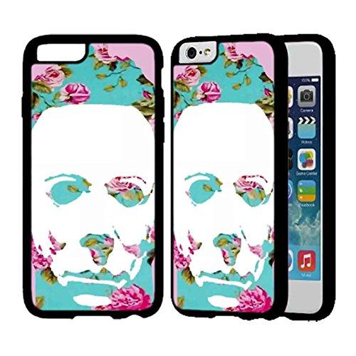 Floral Michael Myers Pop Art IPhone Case Iphone 7 Plus Case Black Rubber - Receipt Myer