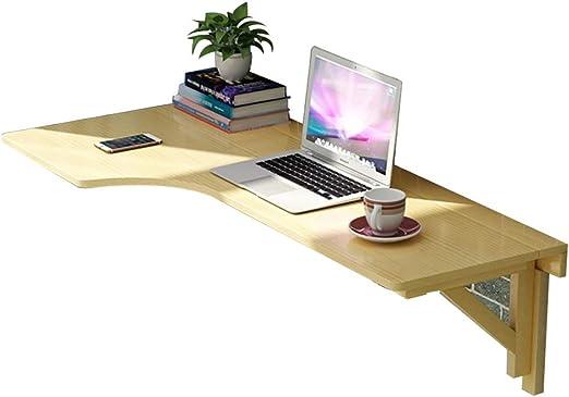Mesas plegables Mesa abatible Pared Escritorio De Ordenador Mesa ...