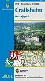 Crailsheim, Oberes Jagsttal: Karte des Schwäbischen Albvereins (Freizeitkarten 1:50000, Band 519)
