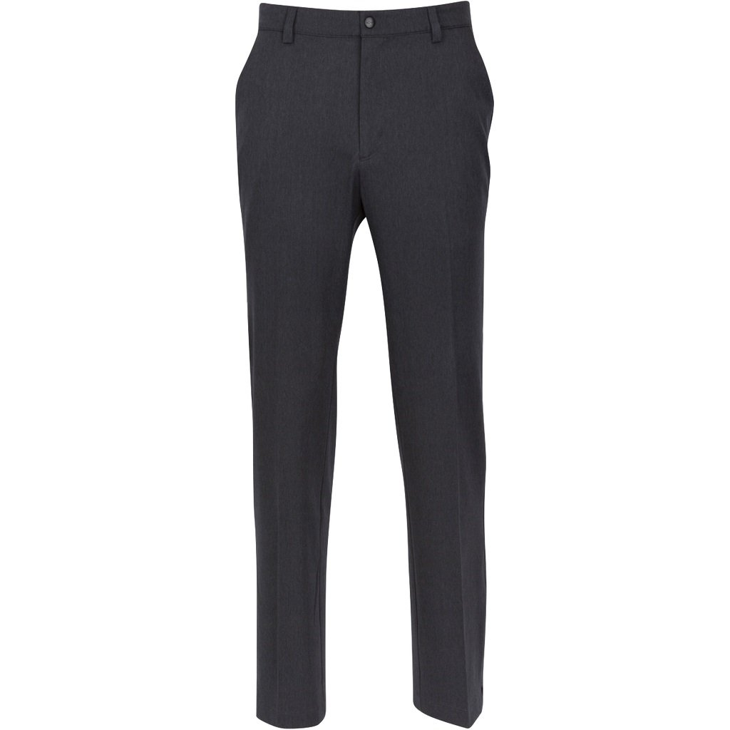 Greg Norman Men's Classic Pro-fit Pant, Black Heather, W: 30'' x L: 32'' by Greg Norman