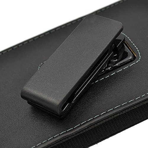 iPhone 6s Plus Holster Case, Gcepls iPhone 7 Plus Premium Leather Holster Belt Case with Clip / Loops Belt Pouch Holder Cover with Built in Card Slot for iPhone 6 Plus 7 Plus 8 Plus by Gcepls (Image #4)