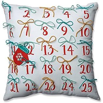 Amazon.com: Almohada perfecto Advent almohada red-aqua 17.5 ...