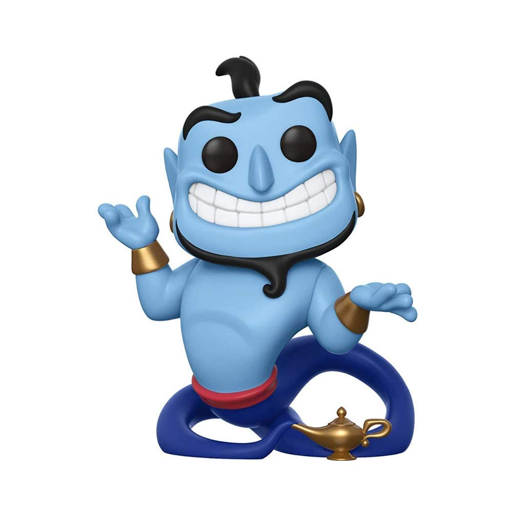 Funko 35757Pop! Disney: AladdinGenie with Lamp, Multicolor