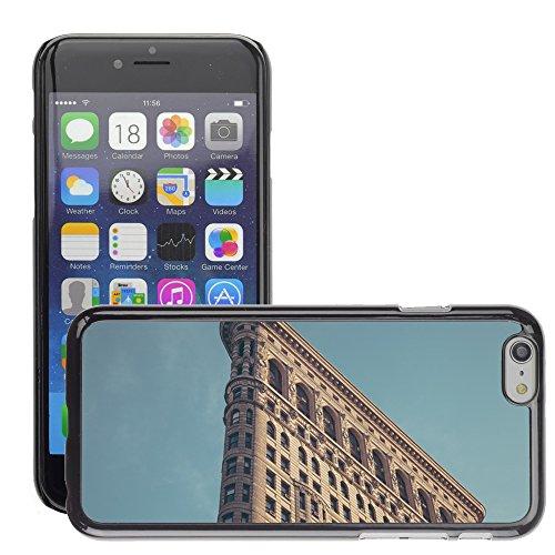 """Stampato Modelli Hard plastica Custodie indietro Case Cover pelle protettiva Per // M00421618 Architecture Bâtiment de New York // Apple iPhone 6 4.7"""""""