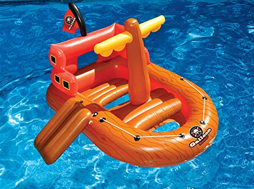 Swimline Galleon Raider Water Toy Pool Float (Galleon Pirate Ship)