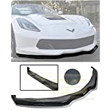 Extreme Online Store Z06 Z07 Stage 2 Style ABS Plastic Painted Carbon Flash Metallic Front Bumper Lower Lip Splitter for 2014-Present Chevrolet Corvette C7