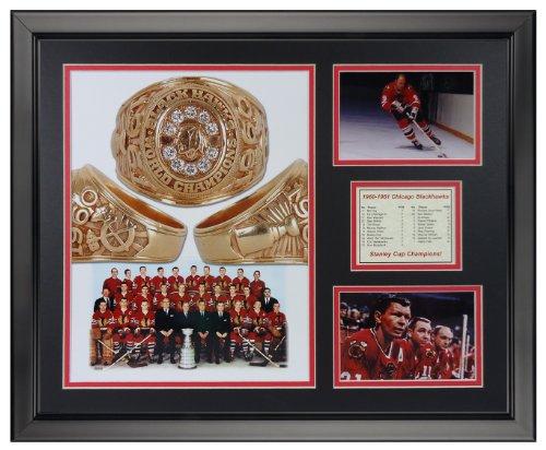 (Legends Never Die 1961 Chicago Blackhawks Champions Framed Photo Collage, 16