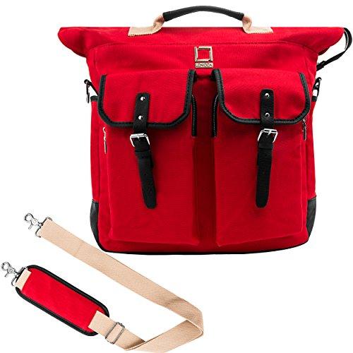 Lencca Universal Hybrid 3 in 1Design Carrying / Tote / Messenger / Crossbody / Backpack / Shoulder Bag for ASUS VivoTab 11.6
