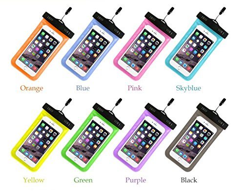 Price comparison product image freeshipping 100% Sealed Waterproof Bag Pouch Phone Case For Apple iPhone 6 6S Plus 5S 5c SE For Samsung S6 Edge S7 Edge S5 P8 For LG Nexus 5