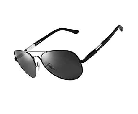 ab83807993 Hero Limited edition aluminum magnesium polarized sunglasses outdoor sports  sunglasses (Black Color)