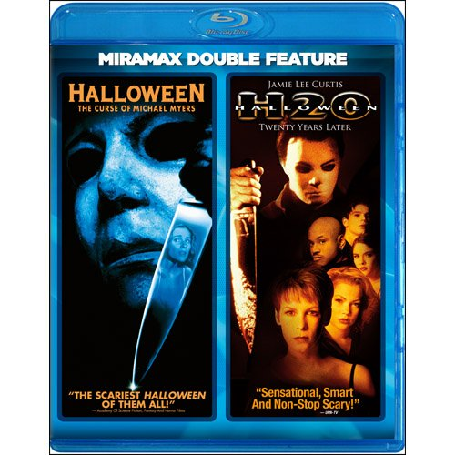 Halloween: The Curse of Michael Myers / Halloween H20: Twenty Years Later (Miramax Double Feature) [Blu-ray]]()