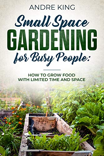 Small Space Gardening for Busy People: Grow Food with Limited Space and Time by [King, Andre]