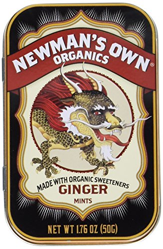 (Newman's Own Organics Mints, Ginger, 1.76-Ounce Tins (Pack of 6))