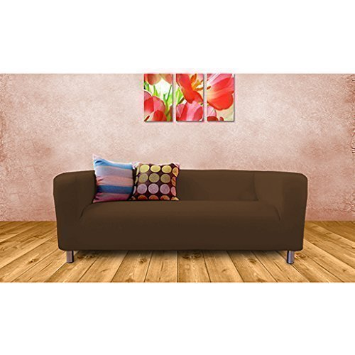 Ikea Klippan 2 Seater Sofa Replacement Slip Cover, Chocolate Changing Sofas