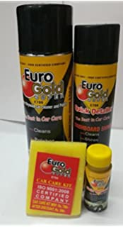 Euro Gold Super Car Care Kit F S Amazon In Car Motorbike