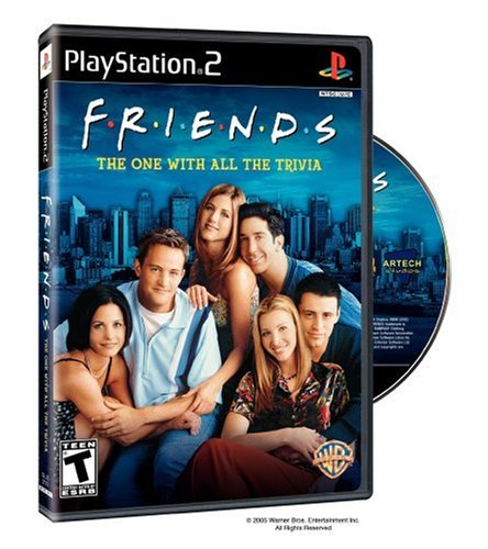 Friends: The One with All the Trivia (Game Ps2 New)