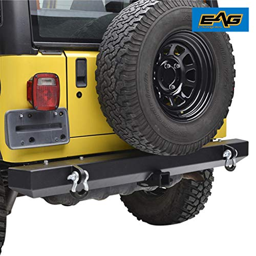 jeep bumpers tj rear - 6