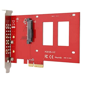 Tarjeta Adaptadora,Unidad De Disco Duro SSD NVME U.2 DE 2.5 ...
