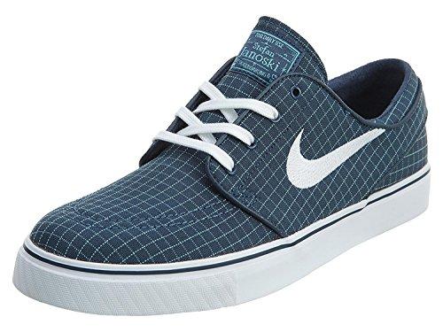 Nike Mens Stefan Janoski Canvas Skate Shoe, Squadron Blue/White-TD Platinum Blue, 45 D(M) EU/10 D(M) UK