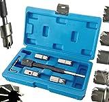 5pc Diesel Injector Seat Cutter Set Delphi Bosch