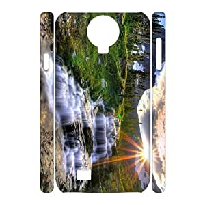 SamSung Galaxy S4 I9500 Water 3D Art Print Design Phone Back Case Personalized Hard Shell Protection TY035746