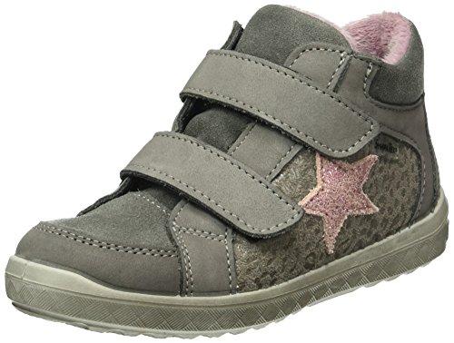 Ricosta Mädchen Tessa Hohe Sneakers, Grau (Graphit/Patina 457), 30 EU