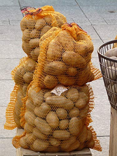 (Home Comforts Framed Art for Your Wall Potatoes Potato Sack Food Vegetables Potato Vivid Imagery 10 x 13 Frame)