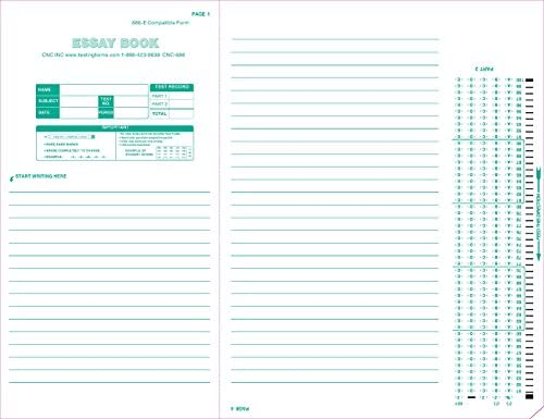 Test 886 886 E 100 Question Compatible Testing Forms 500 Sheet Pack